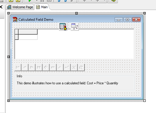 Calculated Field Delphi Example