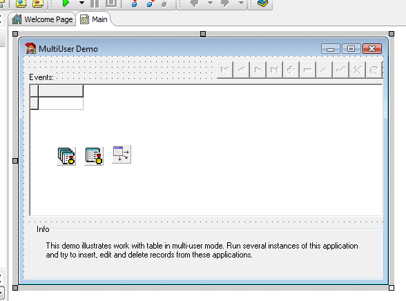 Multi User Delphi Example